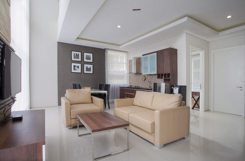 Living Room Type Adjar (unit 2) Villa Azcarya Batu